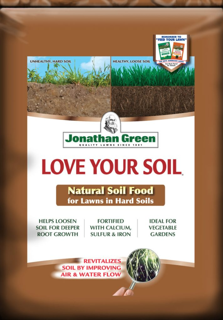 Jonathan Green's Love Your Soil Natural Soil Food for Lawns in Hard Soils