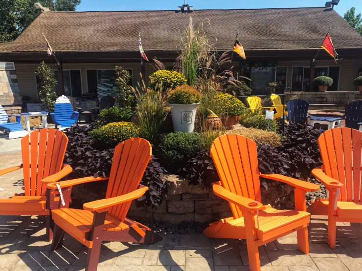 Jack Frost Garden Center front entrance - Fall Decorating Ideas