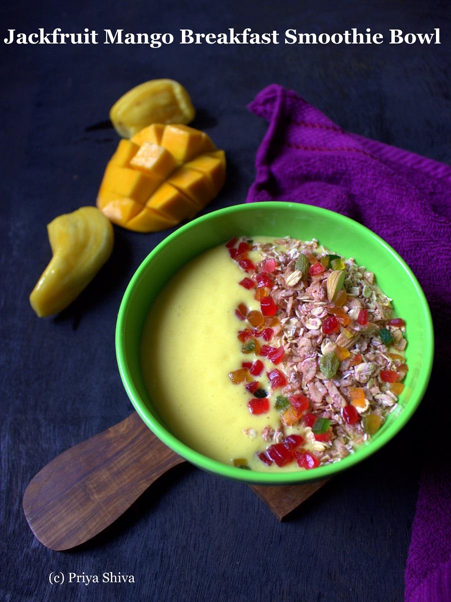 Jackfruit-Mango-Breakfast-Smoothie-Bowl