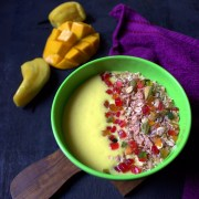 Jackfruit Mango Breakfast Smoothie Bowl