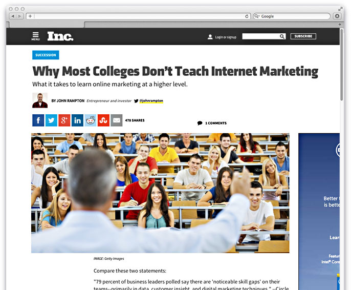 Social Media Marketing MBA