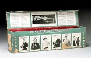 "L0076590 Box for ""Veedee"" vibratory massager"