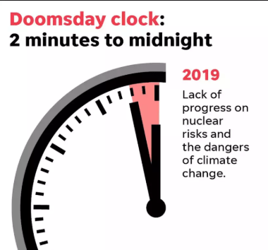 2019 Dooms Day Clock (2)