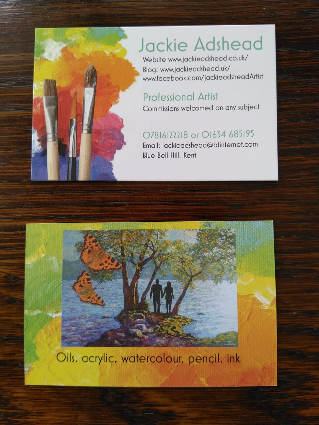 New business cards have arrived!