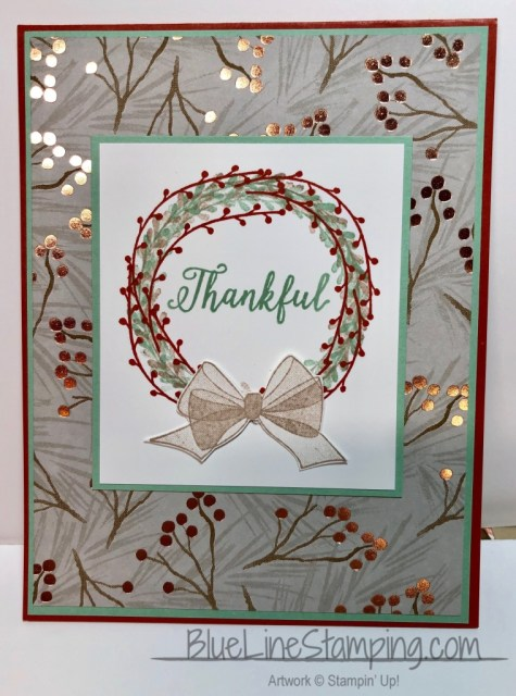 Stampin' Up!, Falling For Leaves, Wishing you Well, Jackie Beers