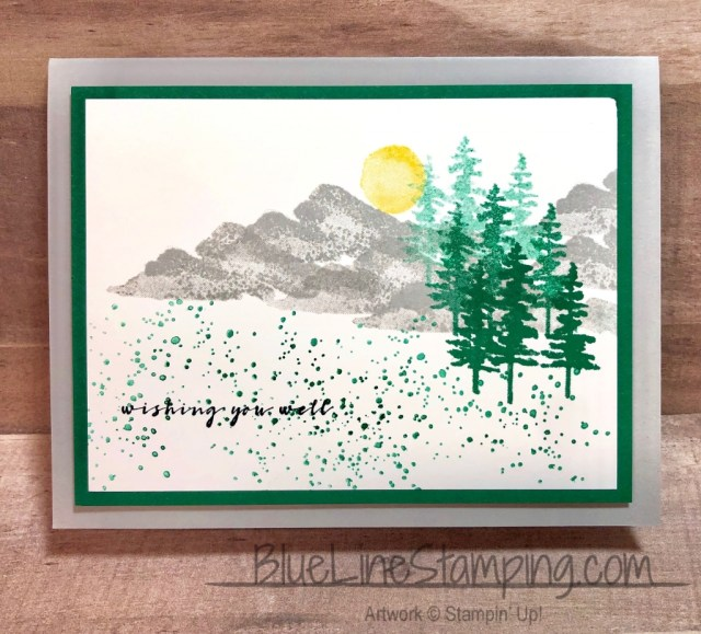 Stampin' Up!, Jackie Beers, Waterfront, Wishing You Well, More Than Words