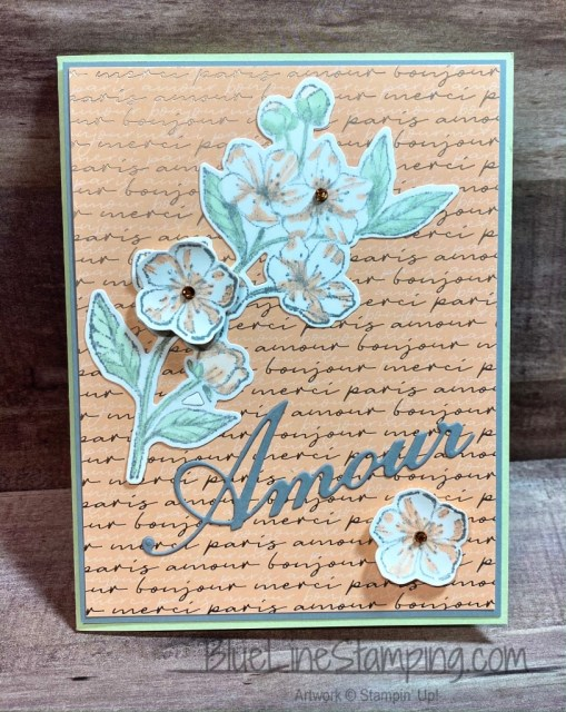 Stampin' Up!, Forever Blossoms, Parisian Dies, Parisian Blossoms, Jackie Beers