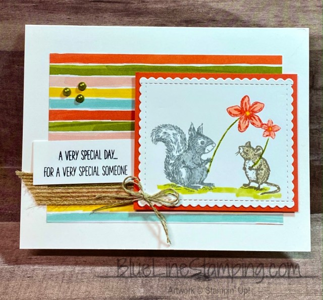 Stampin' Up!, Someone Special, Stitched So Sweetly, Bird Ballad, Jackie Beers