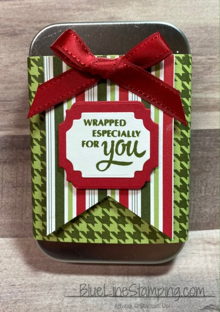 Stampin' Up!, gift card, Heartwarming Hugs, Gift Wrapped, Ornate Frames, Triple Banner, Jackie Beers