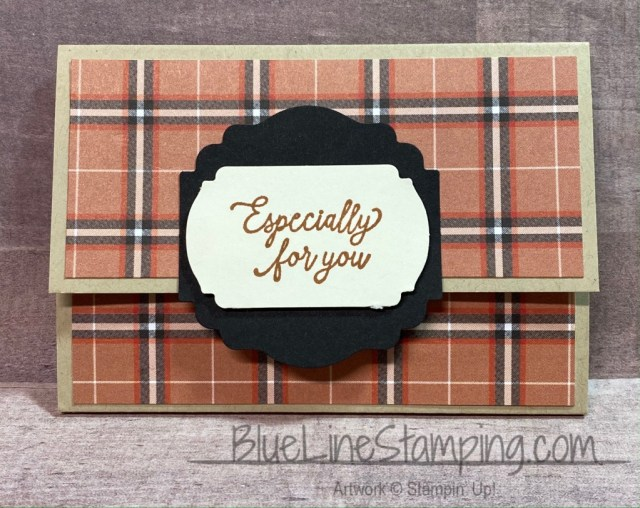 Stampin' Up!, Plaid Tidings, Label Me Fancy, Label Me Lovely, Jackie Beers