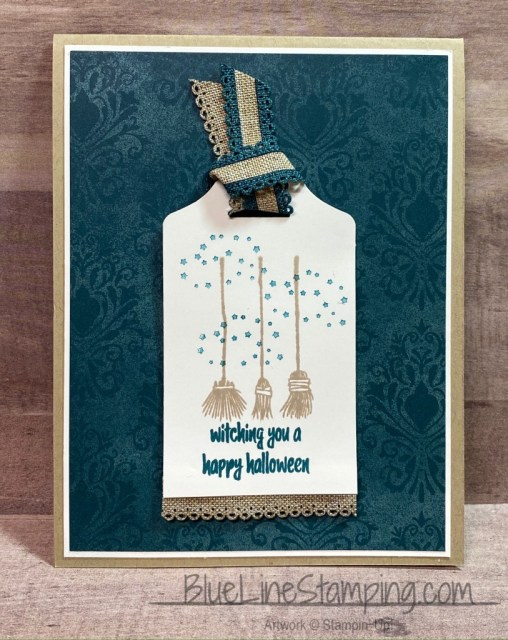 Stampin' Up!, Festive Post, Fancy Tag, Magic In This Night, Jackie Beers