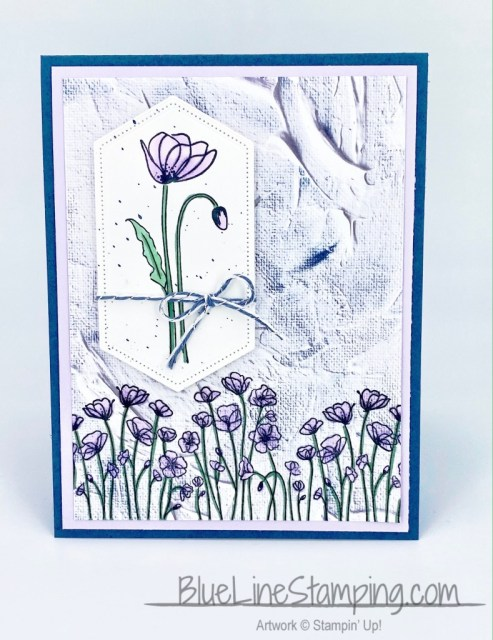 Stampin' Up!, Painted Poppies, In Good Taste, Jackie Beers