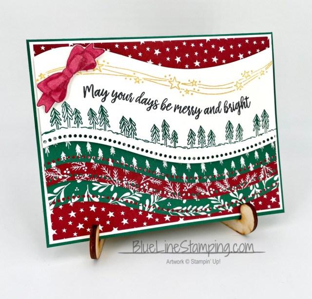 Stampin' Up!, Curvy Christmas, Curvy Dies, Classic Christmas, Jackie Beers