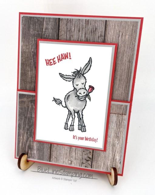 Stampin' Up!, Darling Donkey, In Good Taste, Jackie Beers