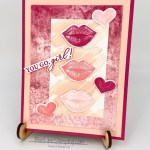 Stampin up, hearts and kisses, stitched with whimsey, sand and sea, Jackie Beers