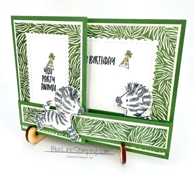 Stampin' Up!, Zany Zebras, Forever Greenery, Stitched So Sweetly, Jackie Beers