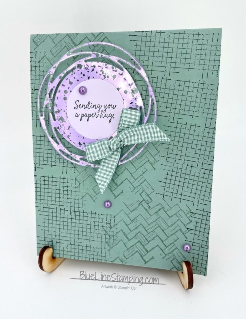 Stampin' Up!, comfort and hope, hydrangea mercury glass, painted labels dies, Jackie Beers