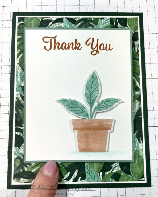 Stampin' Up!, Bloom Where You're Planted, Plentiful Plants, Jackie Beers