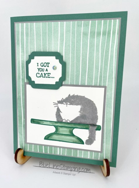 Stampin' Up!, Sweets & Treats, Way To Goat, Ornate Frames, Clever Cats, Jackie Beers