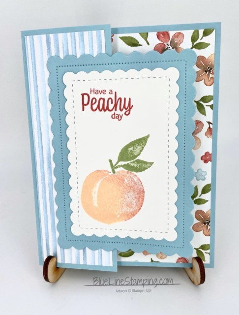 Stampin' Up!, sweet as a peach, youre a peach, you're a peach, jackie beers