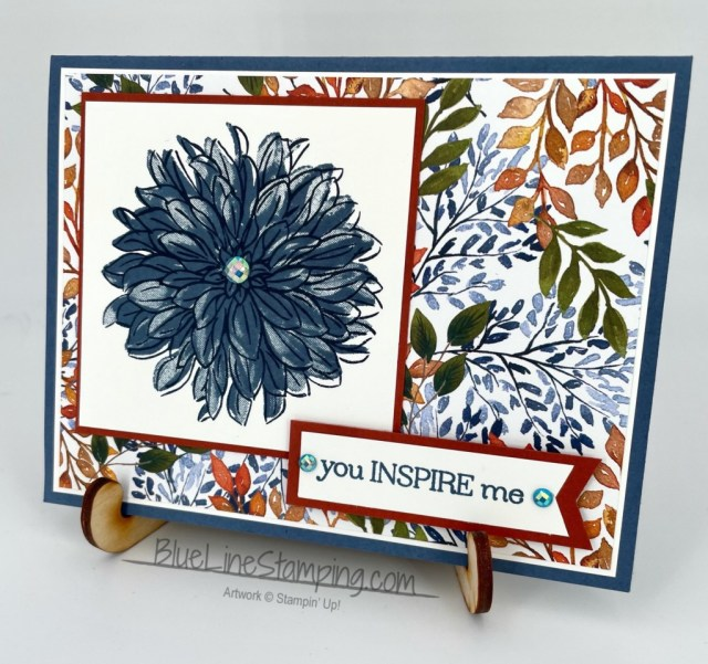 Stampin' Up!, Delicate Dahlias, Beauty of the Earth, Misty Moonlight, Jackie Beers