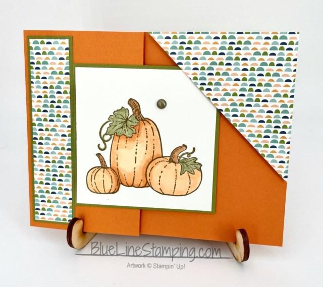 Stampin' Up!, Pretty Pumpkins, Pattern Party, Jackie Beers