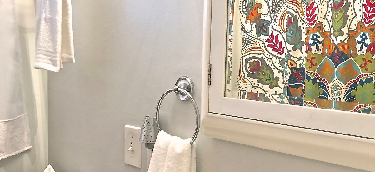 $100 Room Challenge-The Bathroom is Refreshed!