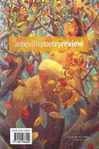 Asheville Poetry Review Issue 23, Cover Art by Vadim Bora