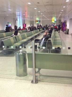 Heathrow gate