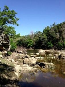 Barton Creek after a little rain