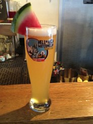 Watermelon wheat beer from The 21st Amendment