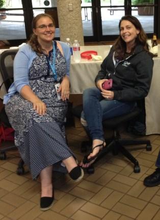 Two fine women of WordPress