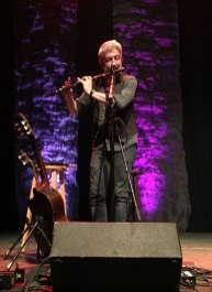 Seamus Egan on flute