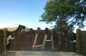 Camp Lonehollow gate
