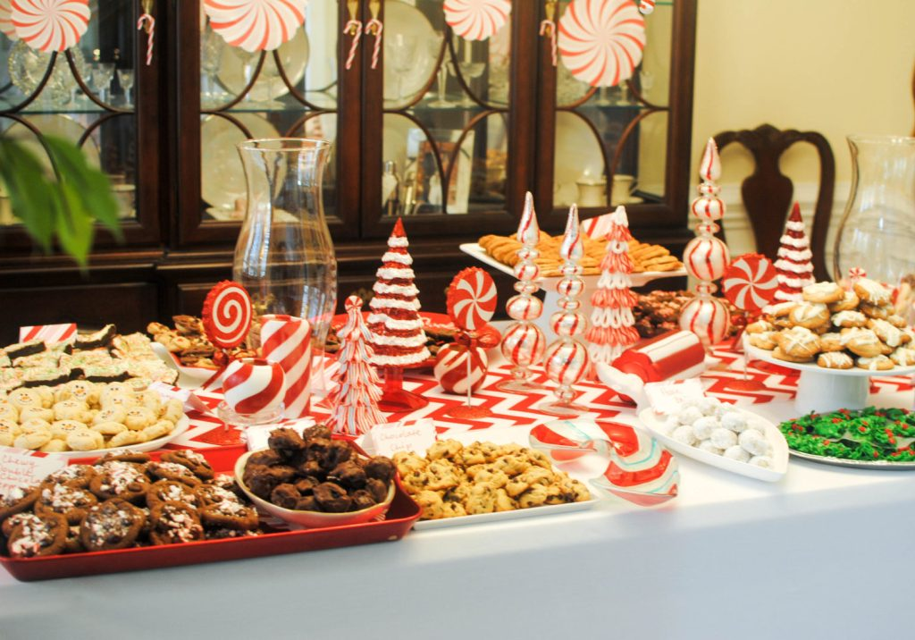 CookiePartyMantel Table