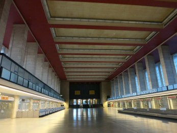The Eerily Empty Former Airport Entrance