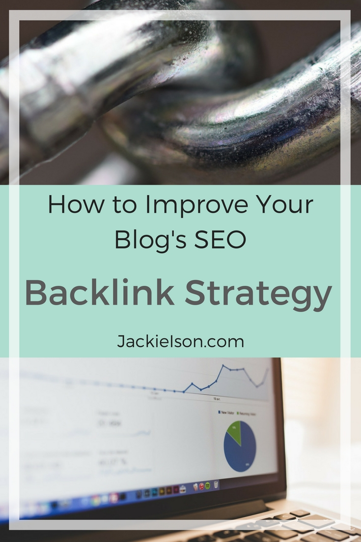 Create an effective backlink strategy to improve your SEO rankings on your blog.