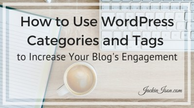 wordpress categories and tags