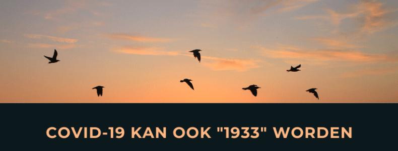 Wil je de muziek van 1933 of een toekomst voor onze kinderen?
