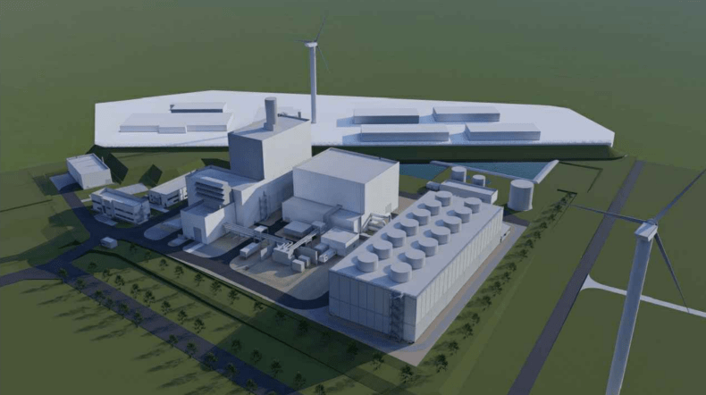 3D Gascentrale Dilsen-Stokkem