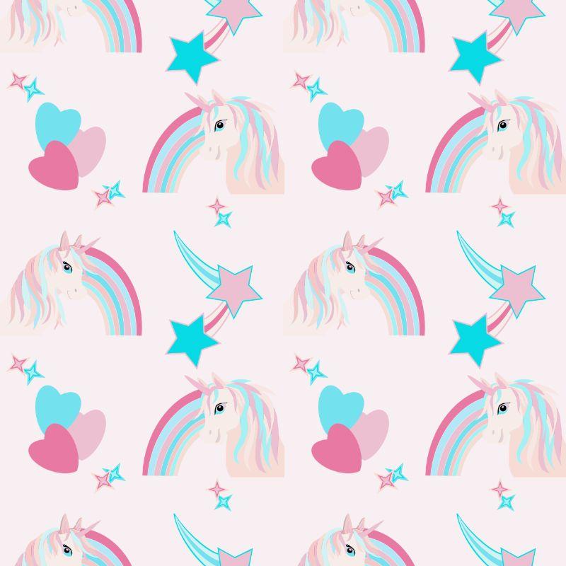 Unicorn repeat pattern