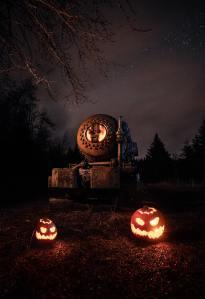 Halloween in Banff