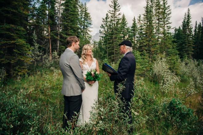 Banff National Park Canada Rocky Mountains Elopement