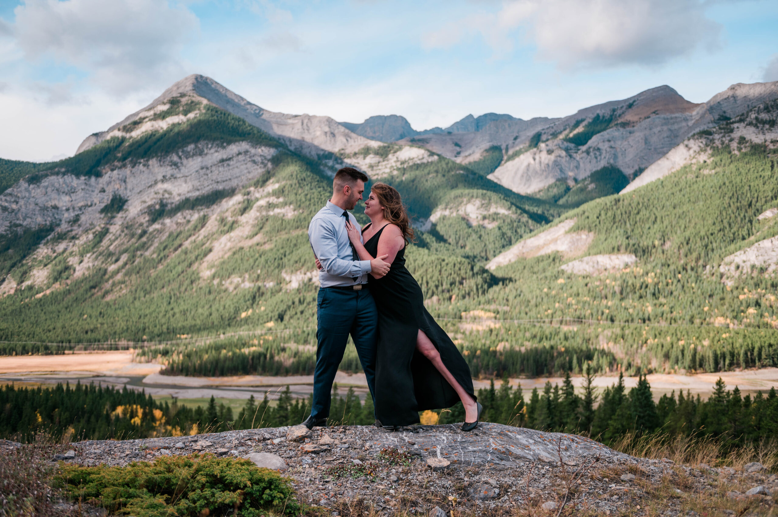 Mountain Engagement Photography