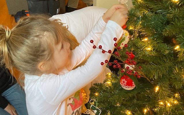 Trees…Tinsel… and Three Kids