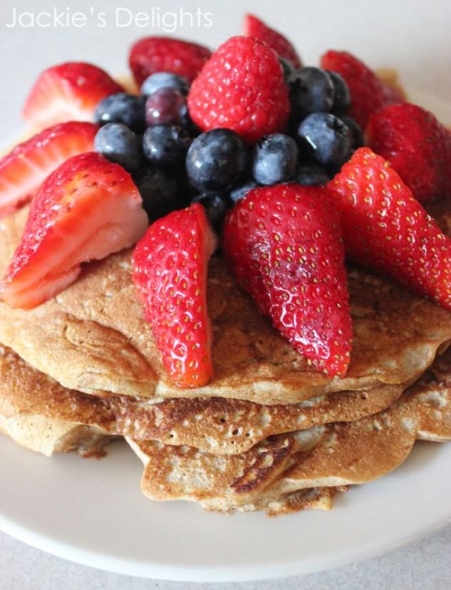whole wheat pancakes.2
