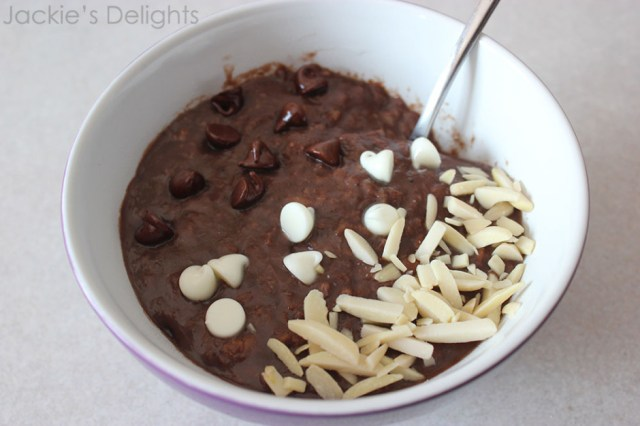 chocolate banana oatmeal.2