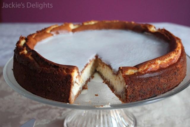 cheesecake with graham crust.4