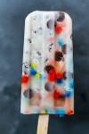 postmodern art popsicle in primary colors