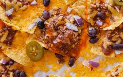 Snack of the Day: Cincinnachos! Cincinnati-Style Chili Cheese Nachos